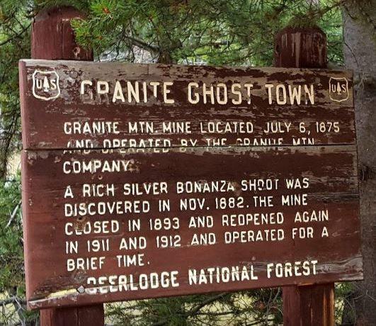 Granite Ghost Town