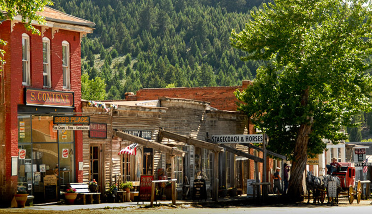 Virginia City Nevada City Mt Destination Montana