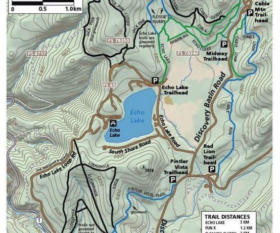 georgetown lake mt map Nordic Skiing Georgetown Lake Destination Montana georgetown lake mt map