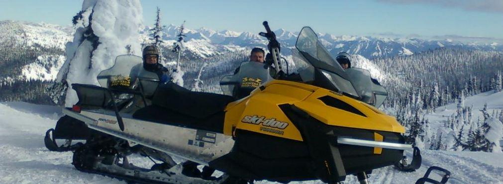 Snowmobile Whitefish Area