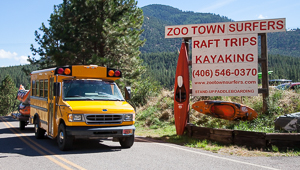 Kayak Missoula with Zoo Town Surfers