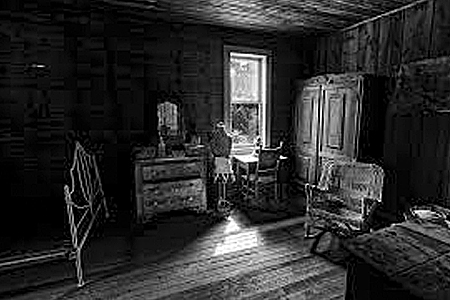 The Bridal Suite at Garnet Ghost Town in Montana