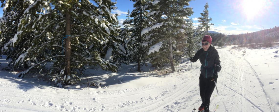 Nordic Ski MacDonald Pass