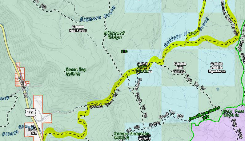 Ramshorn Lake Trail