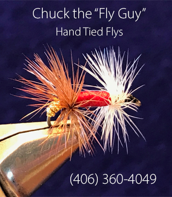 Chuck the Fly Guy - Hand Tied Fly Fishing Flys