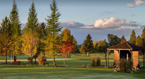 Larchmont Golf Course in Missoula Montana