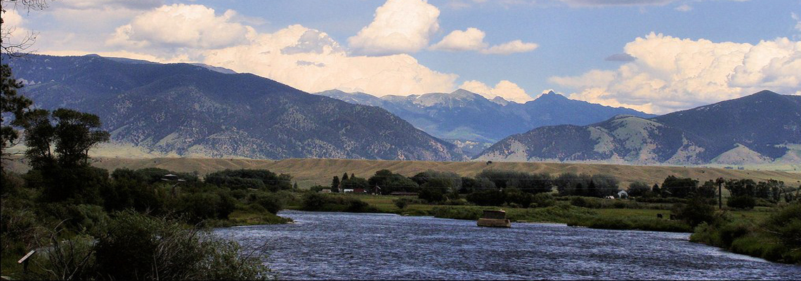 Madison River in Ennis, Montana