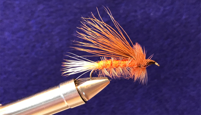 Marcellas Trout #6 Hand Tied by Chuck the Fly Guy