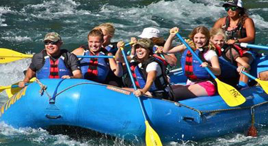 Montana Raft Trips in West Glacier Montana