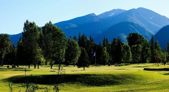 Whitetail Golf Course in Hamilton Montana